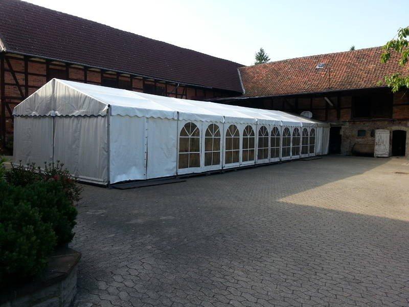 Festzelt 6x21m für ein Polterabend bei Wolfenbüttel