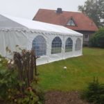 Partyzelt 5x8m bei Gifhorn 1