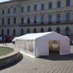 Partyzelt 5x8m Schlossplatz Braunschweig 1