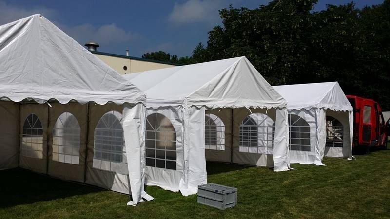 Partyzelt Zeltlandschaft in Salzgitter 2