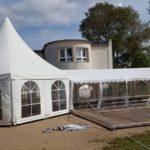 Pagodenzelt Partyzelt Zeltlandschaft