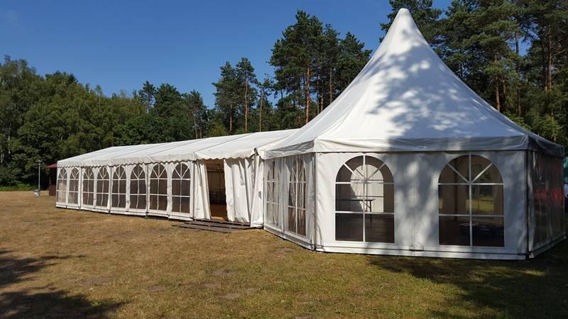 Hochzeit am Tankumsee Event im Festzelt und Pagodenzelt mieten Mutz Zeltverleih
