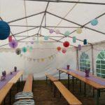 Partyzelt 5x8m Kundenbild aus Adersheim