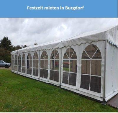 Festzelt mieten in Burgdorf