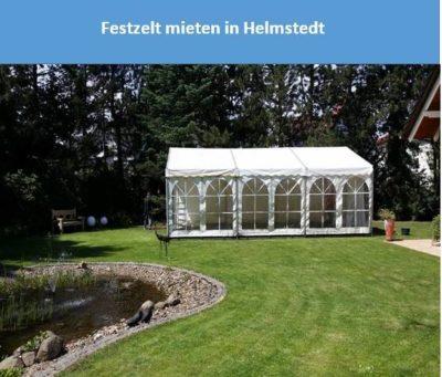 Festzelt mieten in Helmstedt