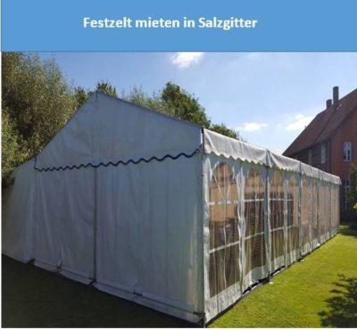 Festzelt mieten in Salzgitter