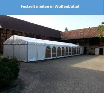 Festzelt mieten in Wolfenbüttel