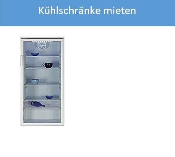 Kühlschränke mieten