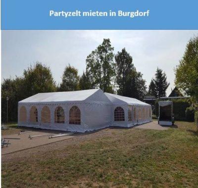 Partyzelt mieten in Burgdorf