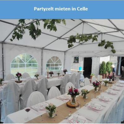 Partyzelt mieten in Celle