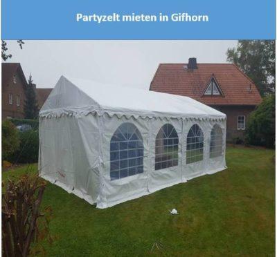 Partyzelt mieten in Gifhorn