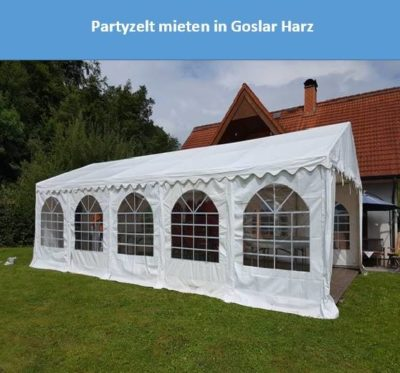 Partyzelt mieten in Goslar Harz
