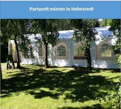 Partyzelt mieten in Helmstedt