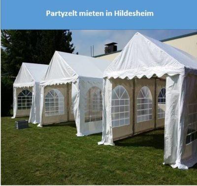 Partyzelt mieten iin Hildesheim