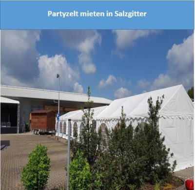 Partyzelt mieten in Salzgitter