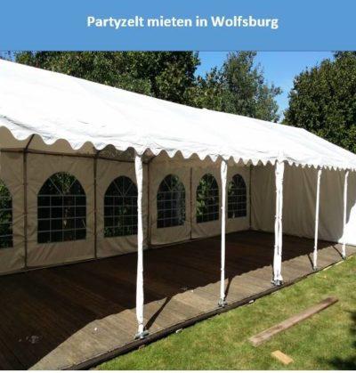 Partyzelt mieten in Wolfsburg
