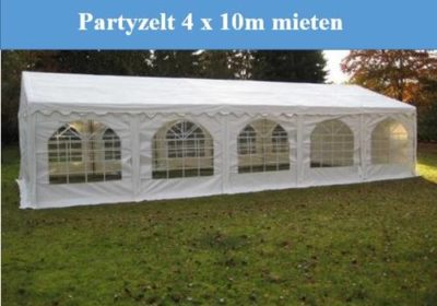 Partyzelt Mieten 4x10m