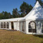Zeltverleih Zeltlandschaft Festzelt-Pagodenzelt